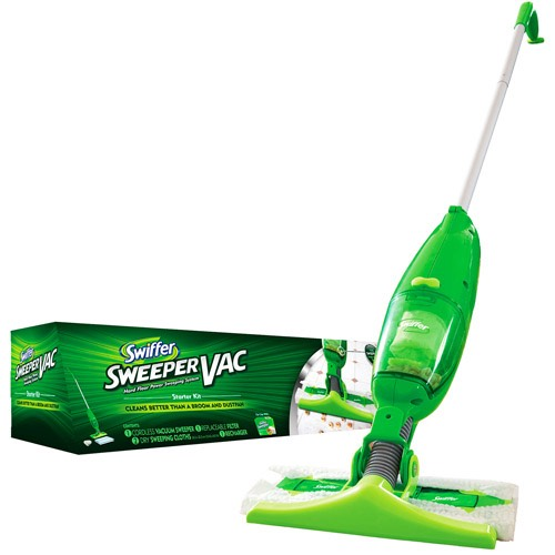 Swiffer WetJet Floor Spray Mop gives you a great clean on virtually any floor in your home. With a unique dual-nozzle sprayer, this all-in-one mopping system breaks up and dissolves tough messes for a .