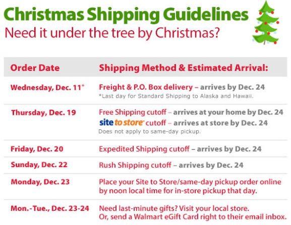 walmart-shipping-deadlines
