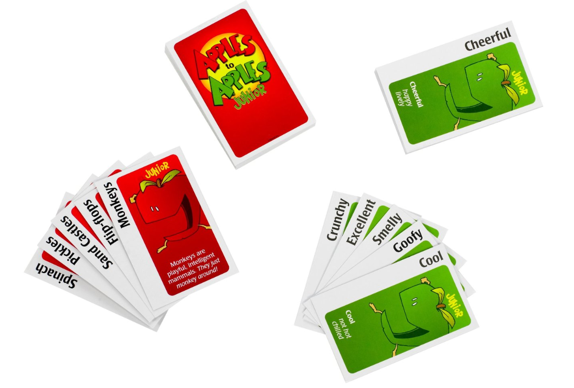 Persnickety image pertaining to apples to apples cards printable