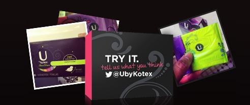 kotex-sample-packs
