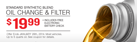 Toyota Synthetic Oil Change Coupon >> Firestone Auto Care Coupon: $19.99 Synthetic Blend Oil Change!