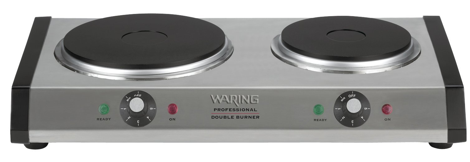 Waring pro countertop portable single burner