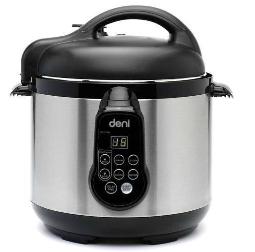 Target Electric Pressure Cooker ~ Deni quart electric stainless steel pressure cooker