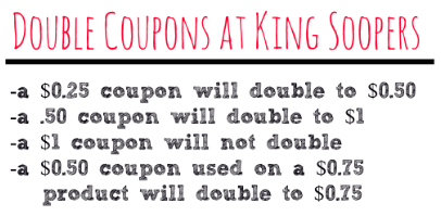 They double coupons up to $ and limit five like manufacturer per customer per day. To access eCoupons, earn fuel rewards and receive sale prices, sign up for the Soopers Card. Combine manufacturer coupons, store coupons, Mega Event promotions and Catalina offers to save big! Sales run Wednesday to Tuesday.