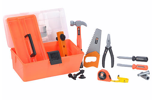 The Home Depot 12-Piece Deluxe Toolbox for Kids Only $12!