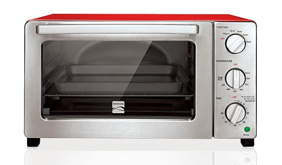 Red Kenmore 6 Slice Convection Toaster Oven 49 99 Down