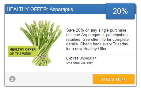Savingstar-asparagus