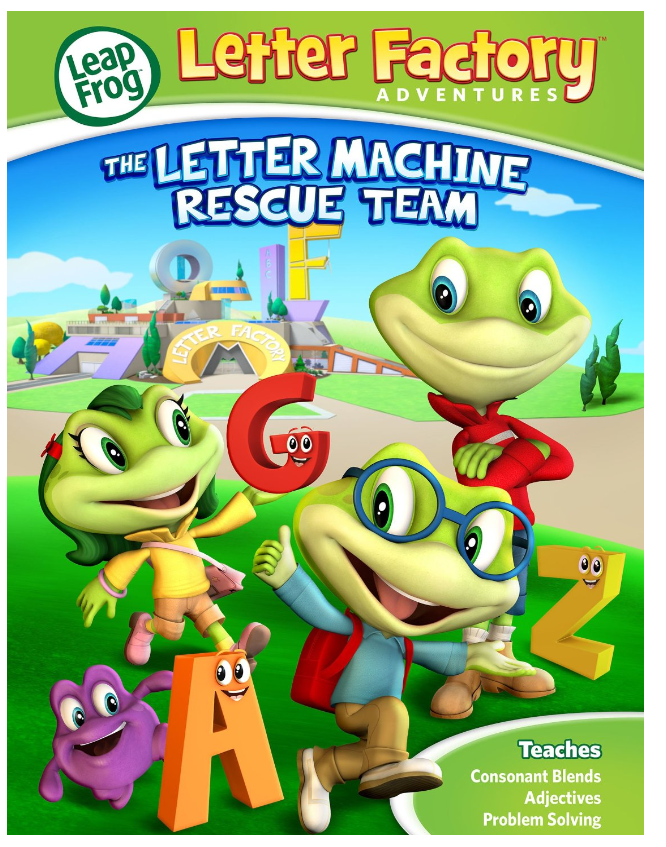 leapfrog letter factory dvd only 299 at target
