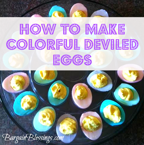 How To Make Colorful Deviled Eggs