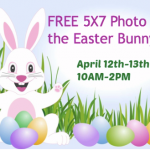 FREE Photos with the Easter Bunny from Walmart: April 12th and 13th!