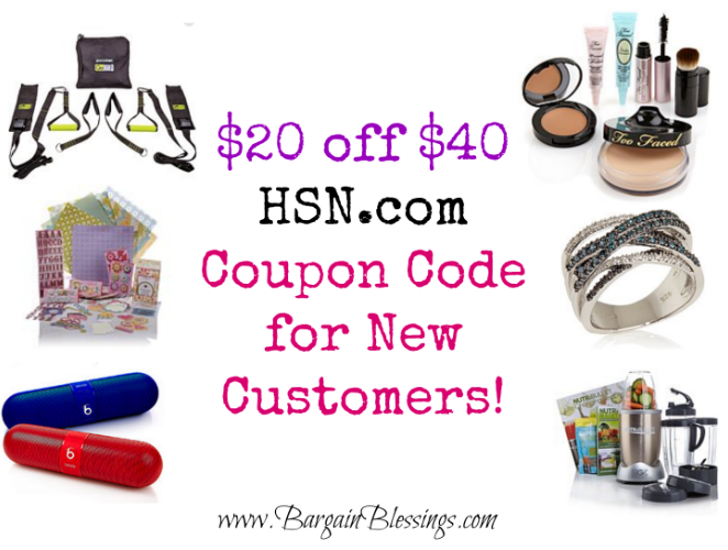 hsn com  20 off  40 coupon code for new customers