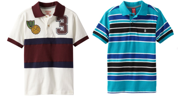 Boys 39 Izod Polo Shirts Starting At Just Down From 35