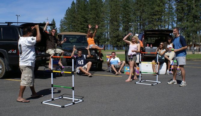 ladder ball game