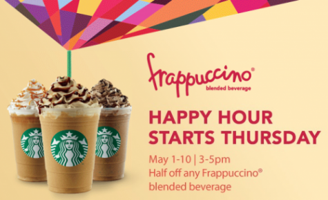 Happy Hour Starbucks Prices Starbucks Happy Hour 1/2