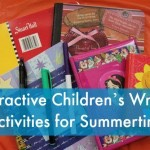 Interactive Children's Writing Activities for Summertime