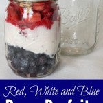 Red, White and Blue Berry Parfaits
