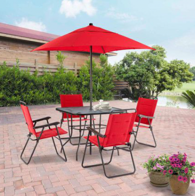 Home Design 6 Piece Patio Set