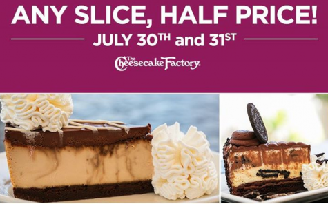 The Cheesecake Factory website also offers a mailing list for customers to receive notification of future specials, coupons and menu changes. Related Stores. Offers Related To The Cheesecake Factory Coupons. Chilis Coupons. Applebees Coupons. today's top deals. Savings up to. 70% off.