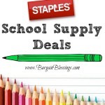 Staples Back To School Deals 7/24-7/30: 5 Items for $0.75 + More!