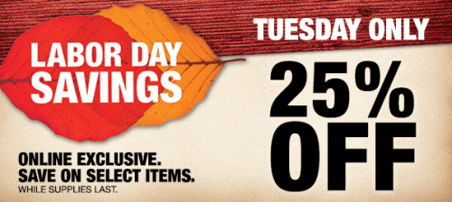 Home Depot Labor Day Sneak Peek Sale Save An Extra 25 Off Select