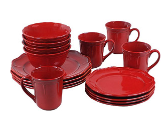 Attirant Walmart Has This 16 Piece Set Of Better Homes And Gardens Simply Fluted  Dinnerware On Sale For $19.98 (down From $44.97)! Not Only Could These Make  Great ...