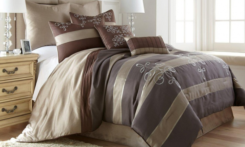Awesome  Piece Jacquard Comforter Sets Starting at down from