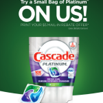 $5 Cascade Mail-In Rebate = FREE ActionPacs!