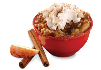... use to score a FREE Cinnamon Apple Crisp with the purchase of a meal