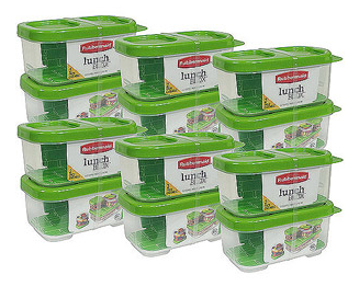 lunch-containser  sc 1 st  Bargain Blessings & Rubbermaid LunchBlox Side Dish Food Storage Containers 12-pack Just ...
