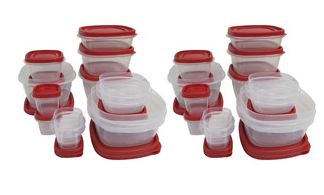 Walmart Has A Rubbermaid 56 Piece Food Storage Container Set Priced At Just  $20! This Is Two 28 Piece Sets Which Are Bundled Together At This Fantastic  ...
