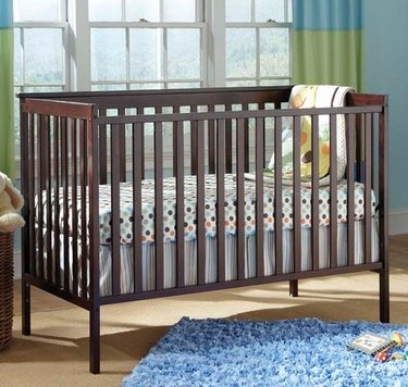 walmart has the storkcraft sheffield ii fixed side convertible crib in espresso on rollback for just 79 down from and it even ships to you for