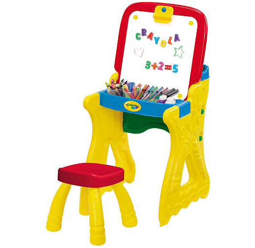 Crayola Play N Fold 2 In 1 Art Studio Only 22 99 Down