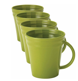 Rachael Ray Set of 4 Double Ridge Mugs Just $9 (down from $19.96)!