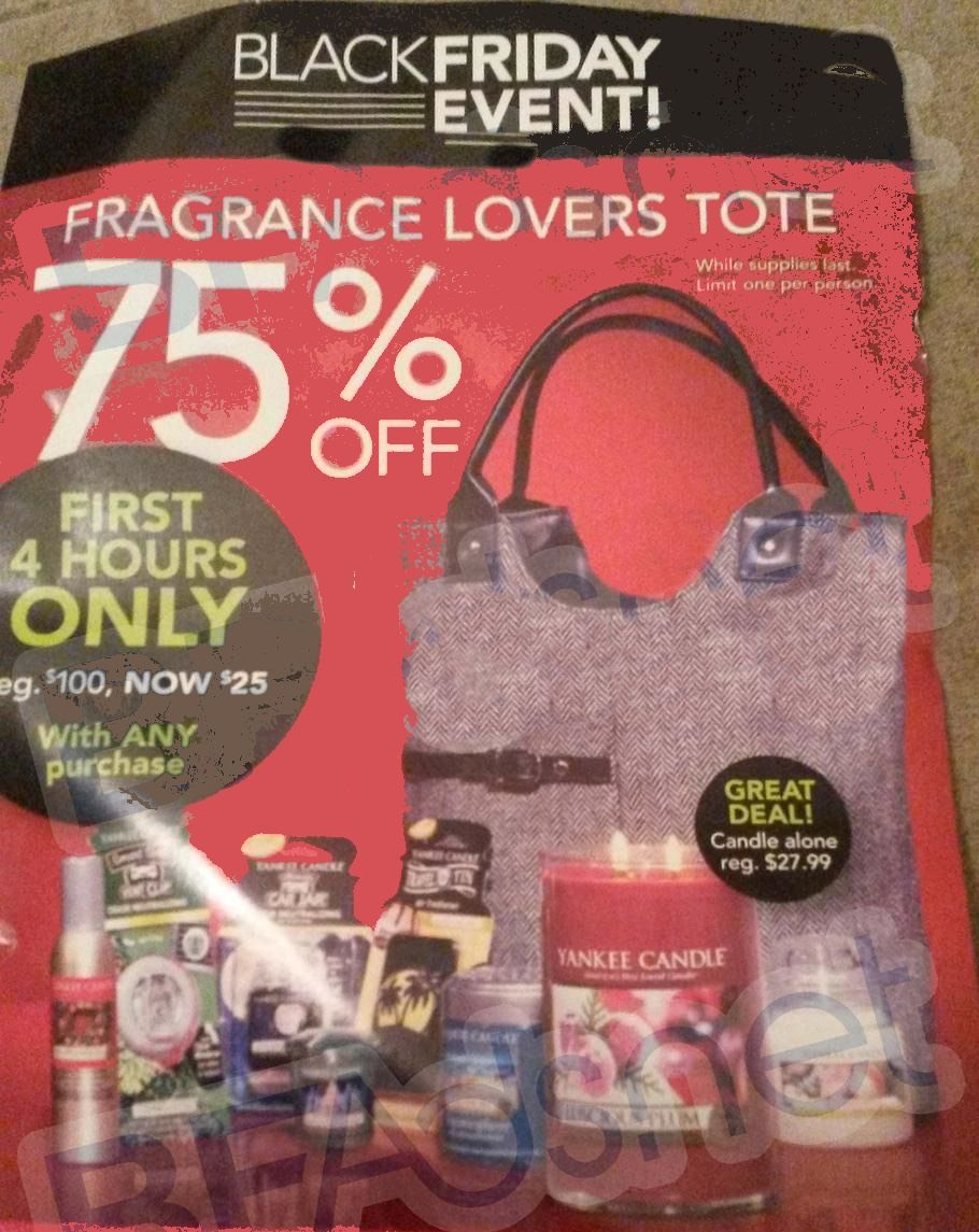 Yankee Candle Black Friday Ad, Deals and Coupon 2014
