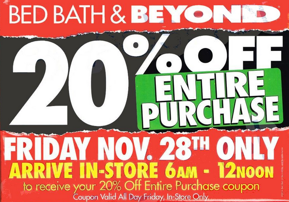 Bed Bath And Beyond Ad Match