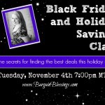 Black Friday and Holiday Savings Class: Join Me Tonight at 7pm MT!