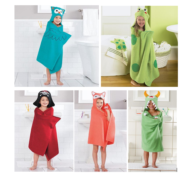 Adorable Kids 39 Bath Wraps Just Down From
