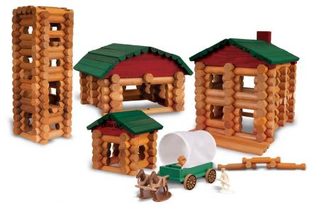 Lincoln Log Houses