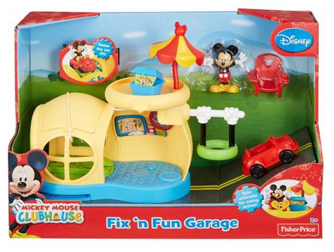 Fisher Price Mickey Mouse Clubouse Fix N Fun Garage Only