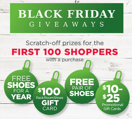 Rack Room Shoes Black Friday And Cyber Monday Deals