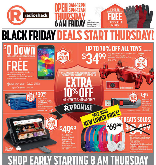 Find RadioShack in your city