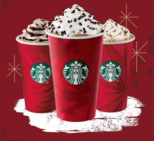 Starbucks Seasonal Drinks