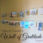 How to Create a Wall of Gratitude