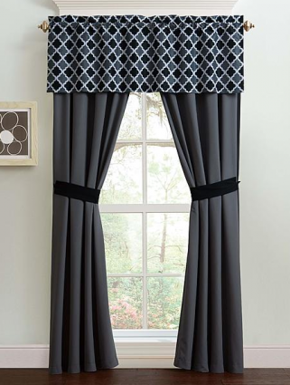 Some Inexpensive Window Coverings Youll Definitely Want To Check Out This Hot Sears Deal Right Now You Can Pick Up These Bradley 5 Piece Curtain Set