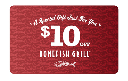 Bonefish grill discount coupons
