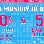 *HOT* The Children's Place Cyber Monday Deals Just Got Better: Extra 20% off Orders of $40 or More!