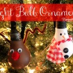 DIY Light Bulb Ornaments!