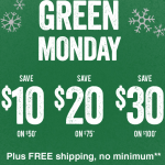 Petsmart Green Monday Deals: Save up to $30 off Your Entire Purchase + FREE Shipping!