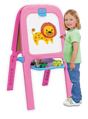 pink-easel