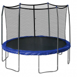 12′ Round Trampoline and Safety Enclosure $199 (down from $299) + FREE Shipping!